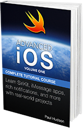 Advanced iOS: Volume One book cover.