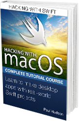 Hacking with macOS book cover.