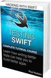 Testing Swift book cover.