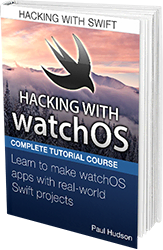 Hacking with watchOS book cover.
