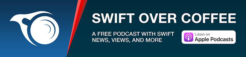 Listen to the Swift over Coffee podcast
