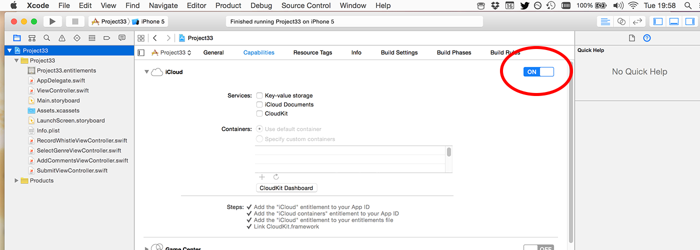 Writing to iCloud with CloudKit: CKRecord and CKAsset - a