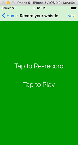 Recording from the microphone with AVAudioRecorder - a free Hacking