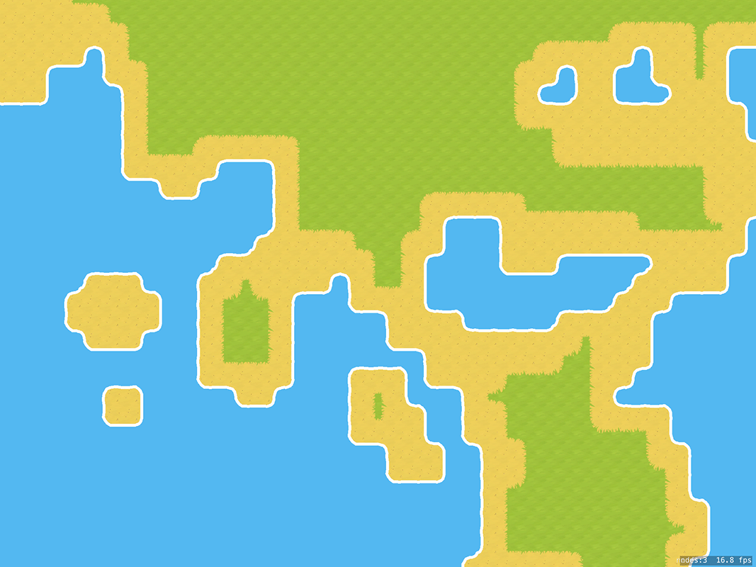 How to create a random terrain tile map using SKTileMapNode and