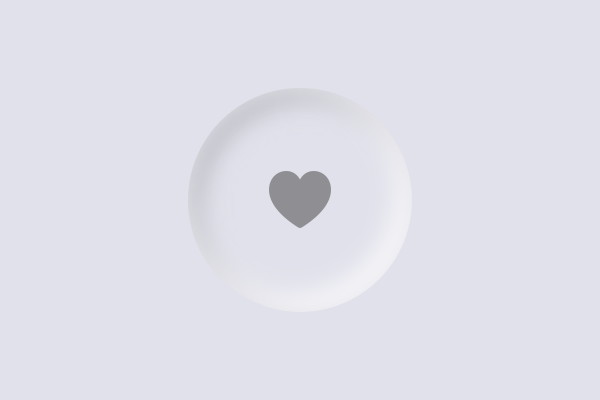 A button that creates a better depress effect by using an inside shadow.